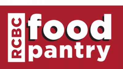 RCBC food pantry logo