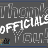 Thank you Officials with NJCAA19 Logo and SayYestoOfficiating Logo