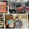 a collage of Jay Varga's projects and photos of him delivering food to hospitals
