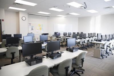 photo of computer lab
