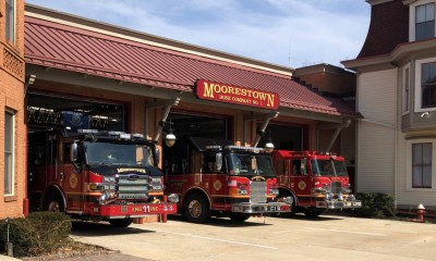 outside of Moorestown Fire Company 311
