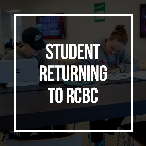 Student Returning to RCBC