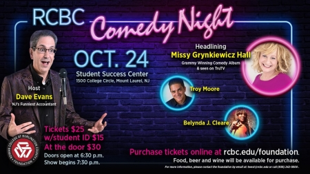 RCBC Comedy Night flyer